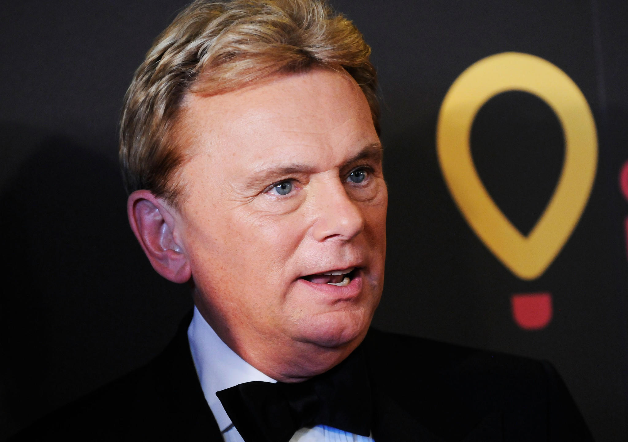 Game Show Host Pat Sajak arrives at the 38th Annual Daytime Entertainment Emmy Awards.