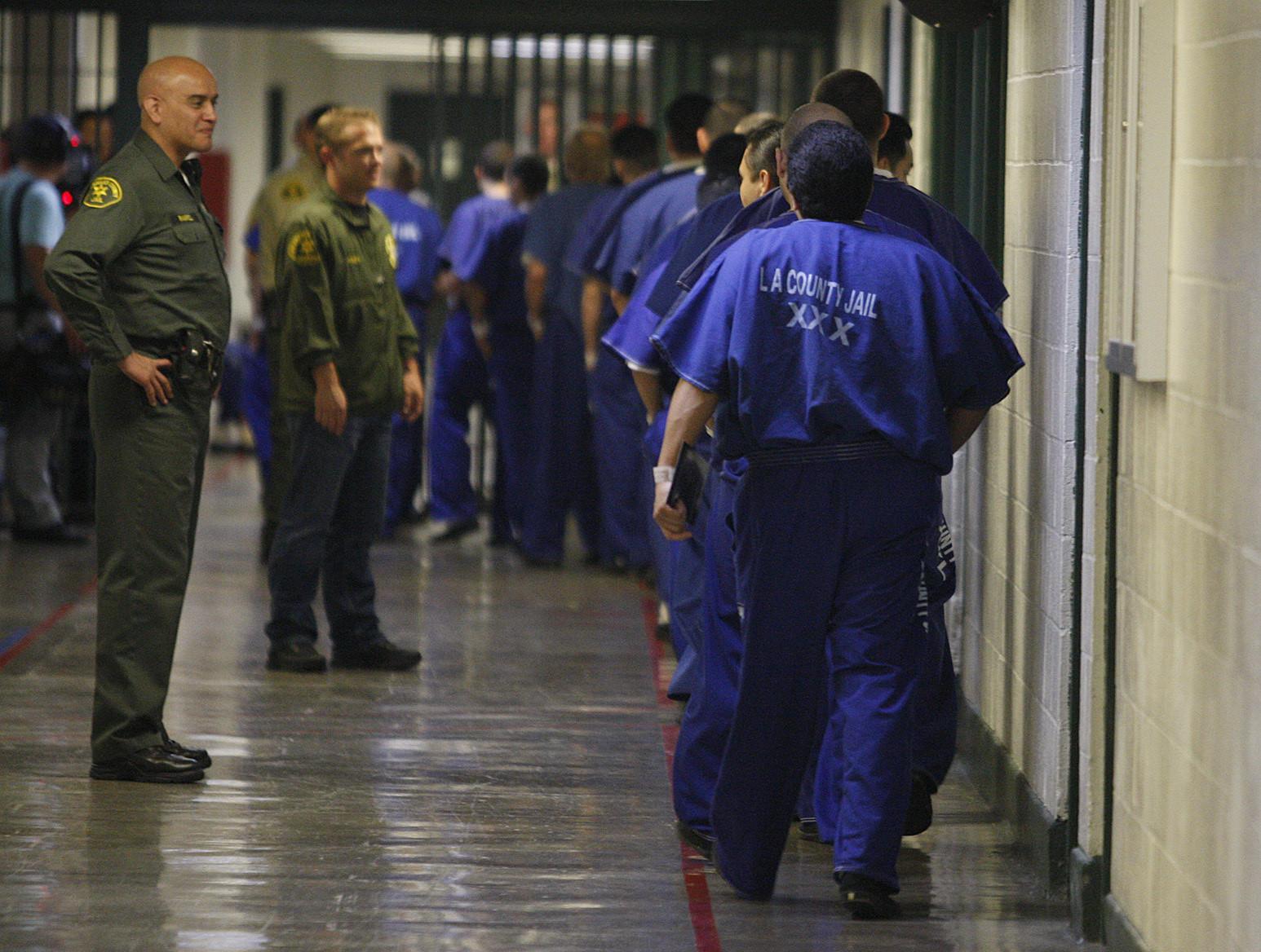 LA COUNTY JAIL - Inmate Reception Center Visitation | Mail ...