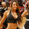 Miami Heat dancer