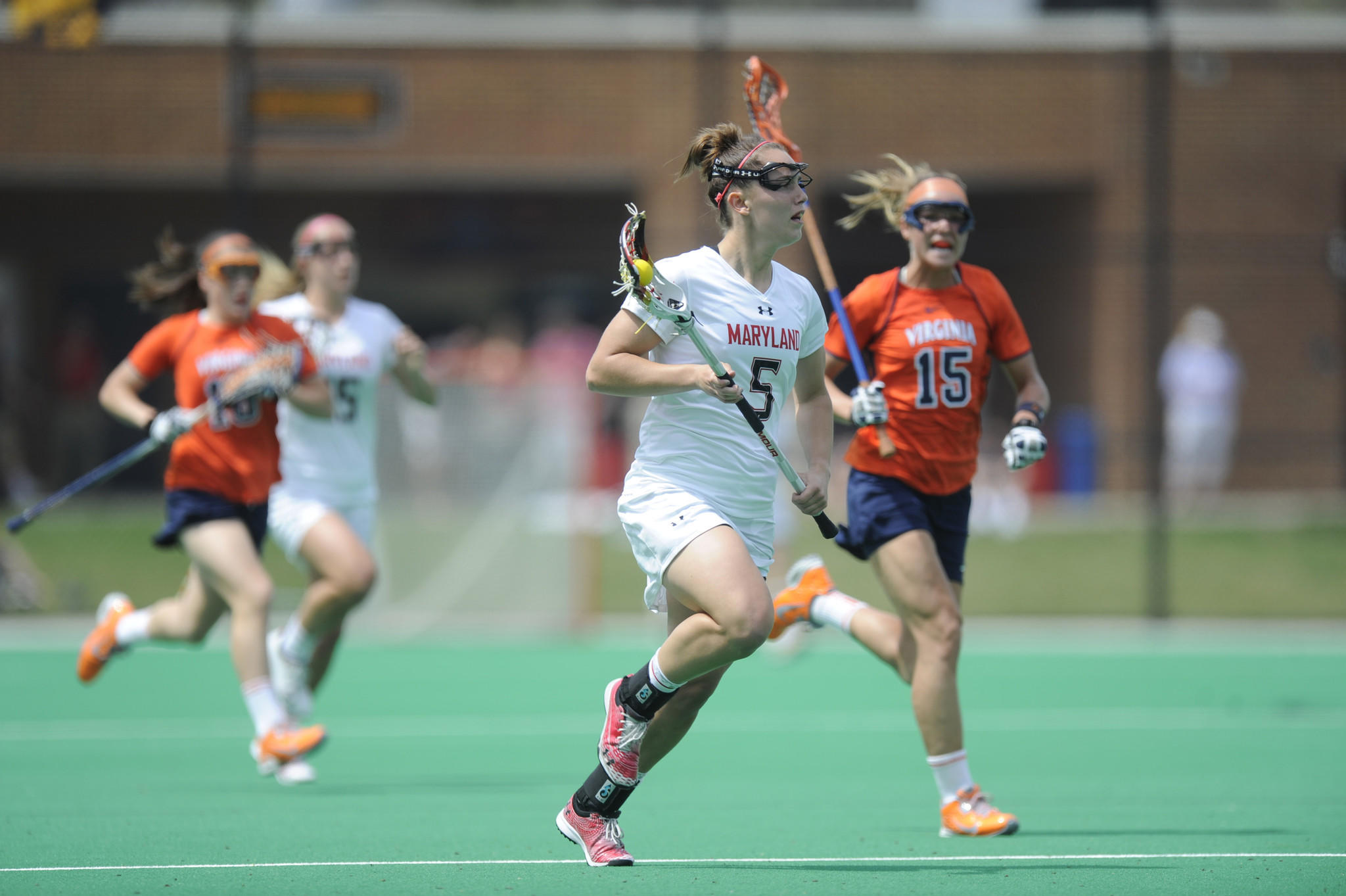 Maryland junior Megan Douty is the first line defender to be named a Tewaaraton Award finalist in five years.