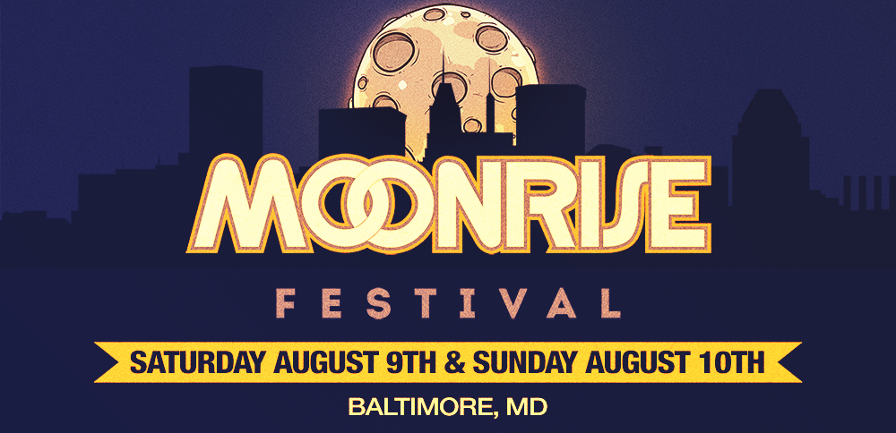The logo for this year's Moonrise Festival.