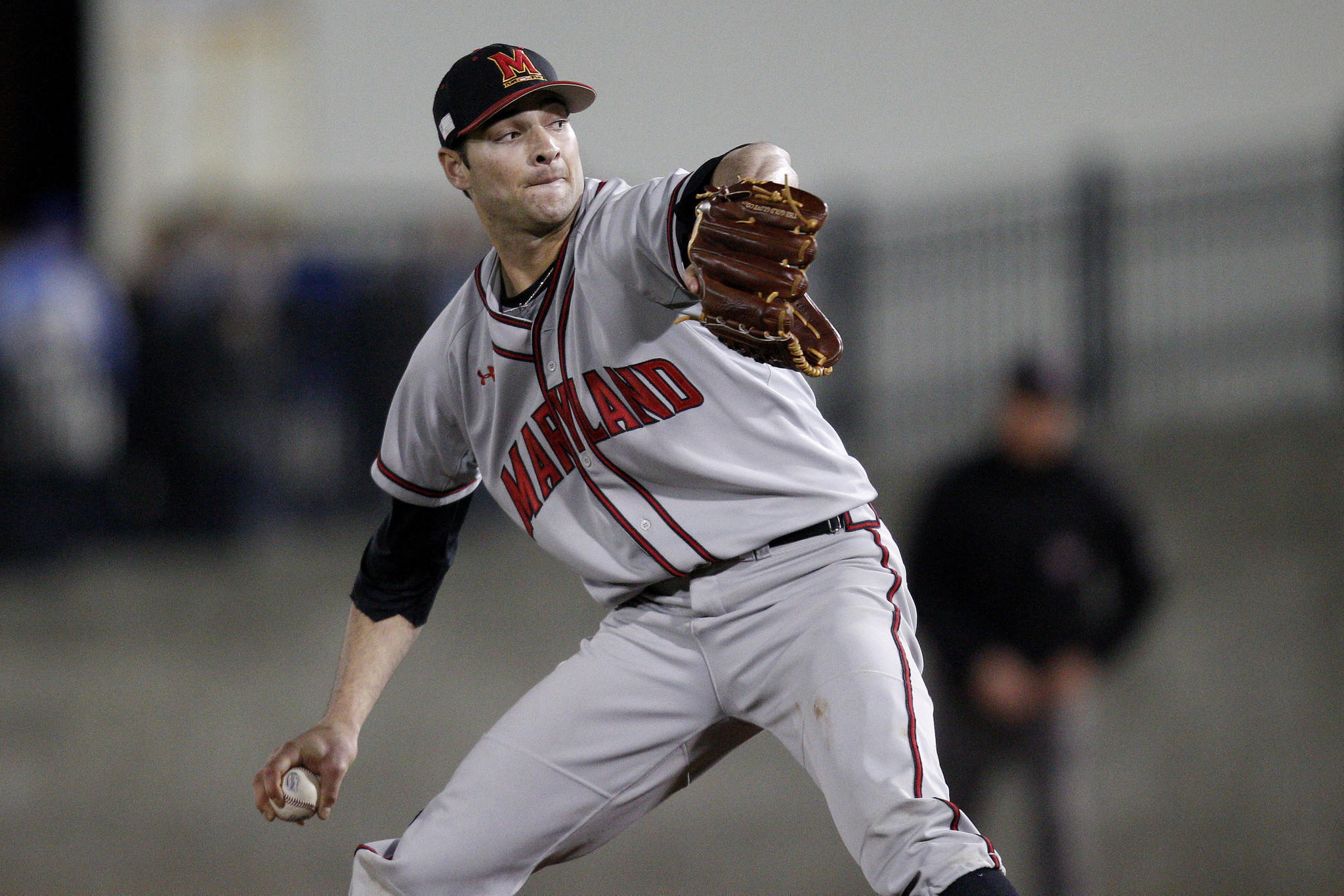 Terps pitcher Jake Stinnett tossed a no-hitter against Massachusetts on March 1 and struck out 14 batters in a win over N.C. State later that month.
