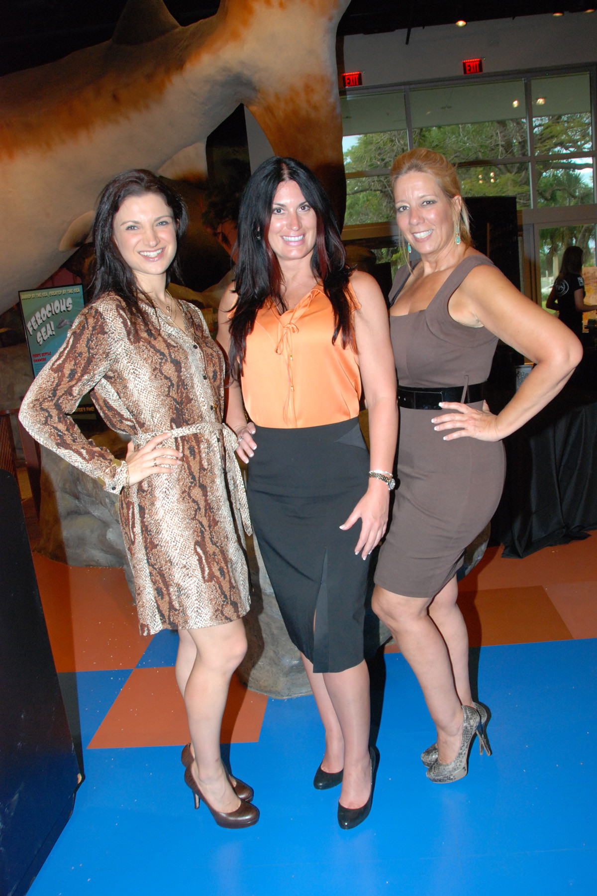 Society Scene photos - Heather Geronemous, Valerie Peru and Alice Harry