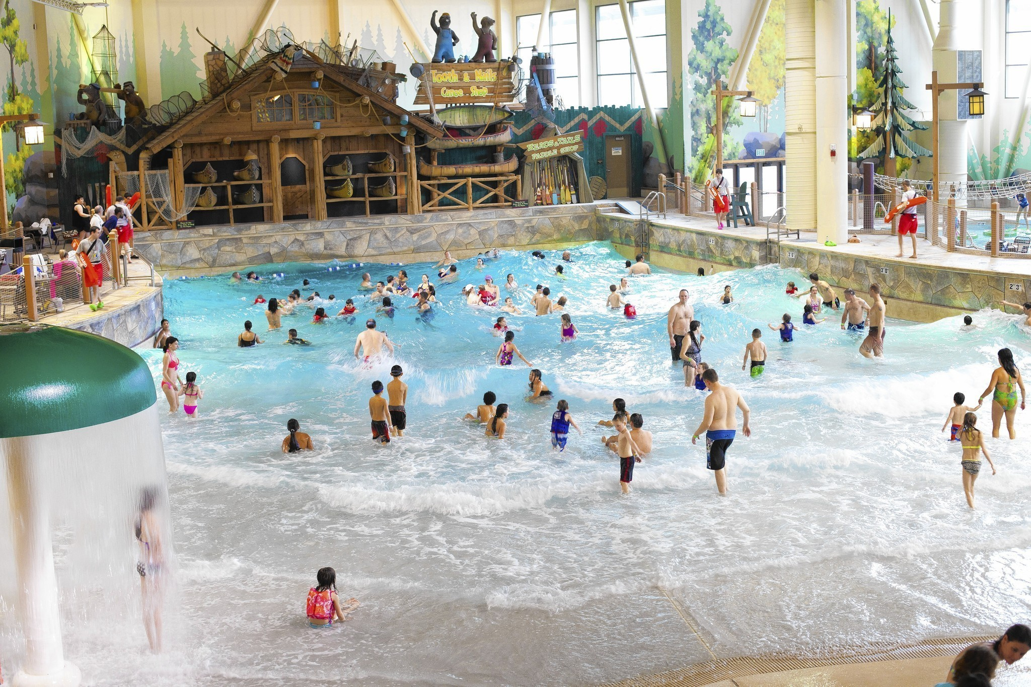 Hotel With Exclusive Indoor Water Park Is Rising Near