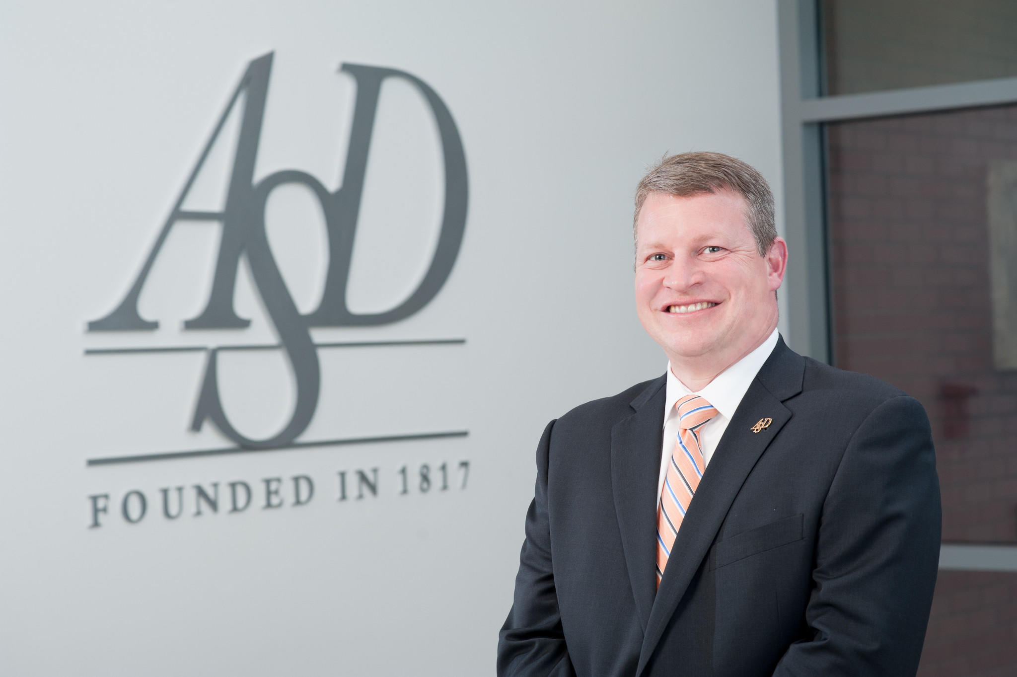Newly named ASD Executive Director of Jeffrey S. Bravin.