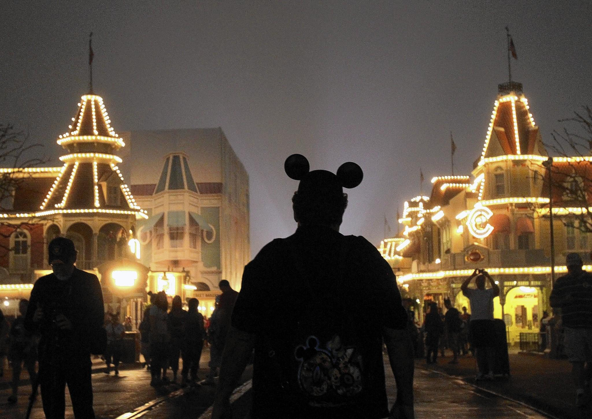 """Back in 2012 for leap year, Disney announced both Orlando's Magic Kingdom and California's Disneyland would open their gates 24 hours straight for the first time. The campaign was called """"One More Disney Day"""" event. Their enthusiasm was mirrored by fellow fans who gathered in the pre-dawn for the celebration's kickoff and amplified across the Internet, where blogs, tweets and Facebook updates let those without the means -- or stamina -- to virtually get in on the action."""
