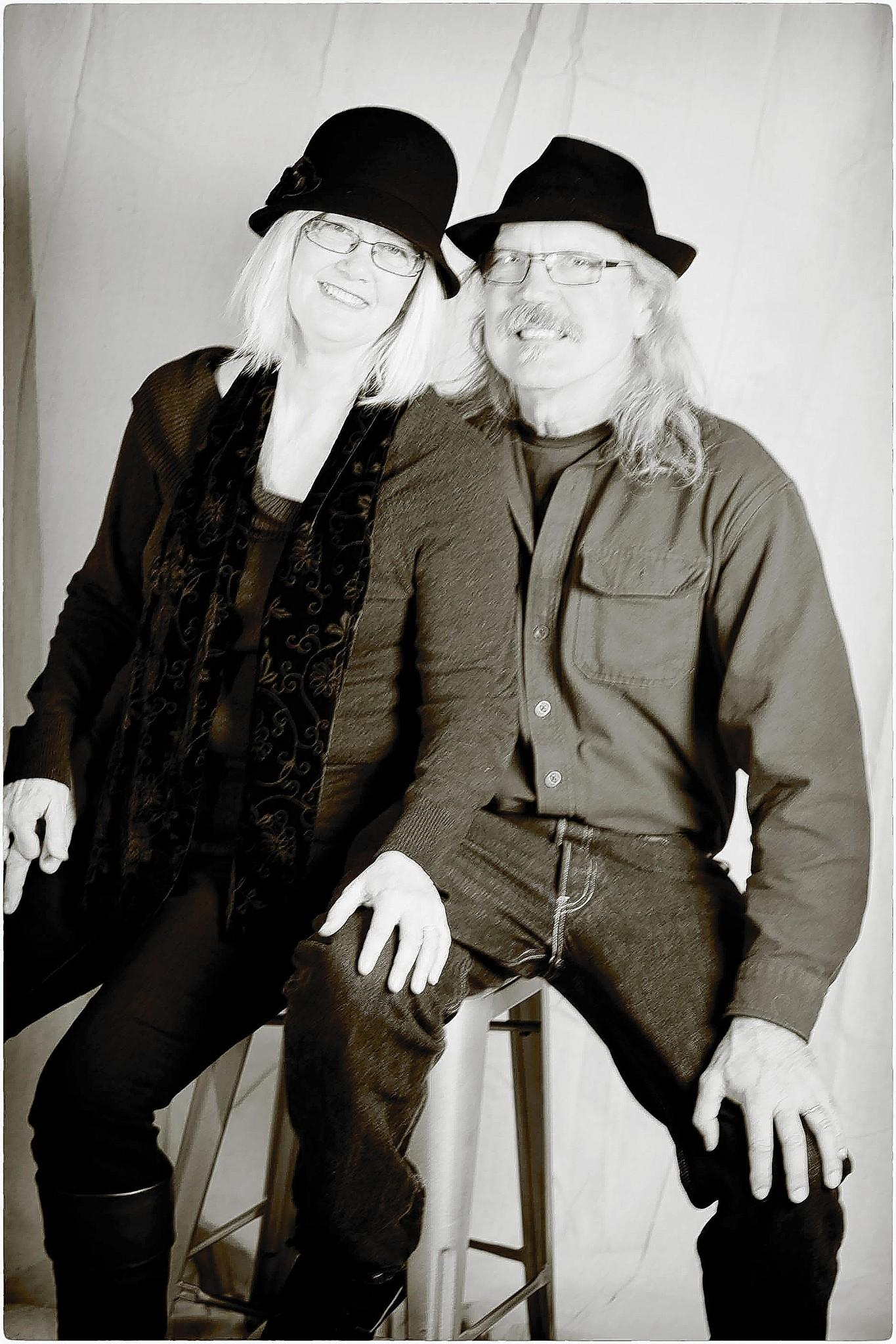 """Jan and Michael Jungden participated in the Willimantic Portrait Project, and will be seen on-screen at the Mansfield Drive-In, which they own, this weekend as part of the """"Everybody's At the Drive-In"""" slide show."""