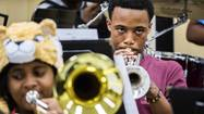 Kenwood Academy band preps for world premiere
