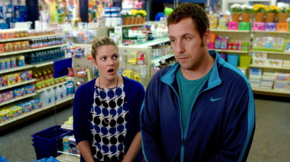 """<i> Zero stars (out of four)</i><br> <b>What we said:</b> """"Sandler spits in your face and calls it a kiss."""" <i>-- Matt Pais </i><br><br><a target=""""_blank"""" href=""""http://www.redeyechicago.com/entertainment/movies/redeye-blended-is-an-insultapalooza-20140516,0,3672303.column""""<b>Click here for our full review</a>"""