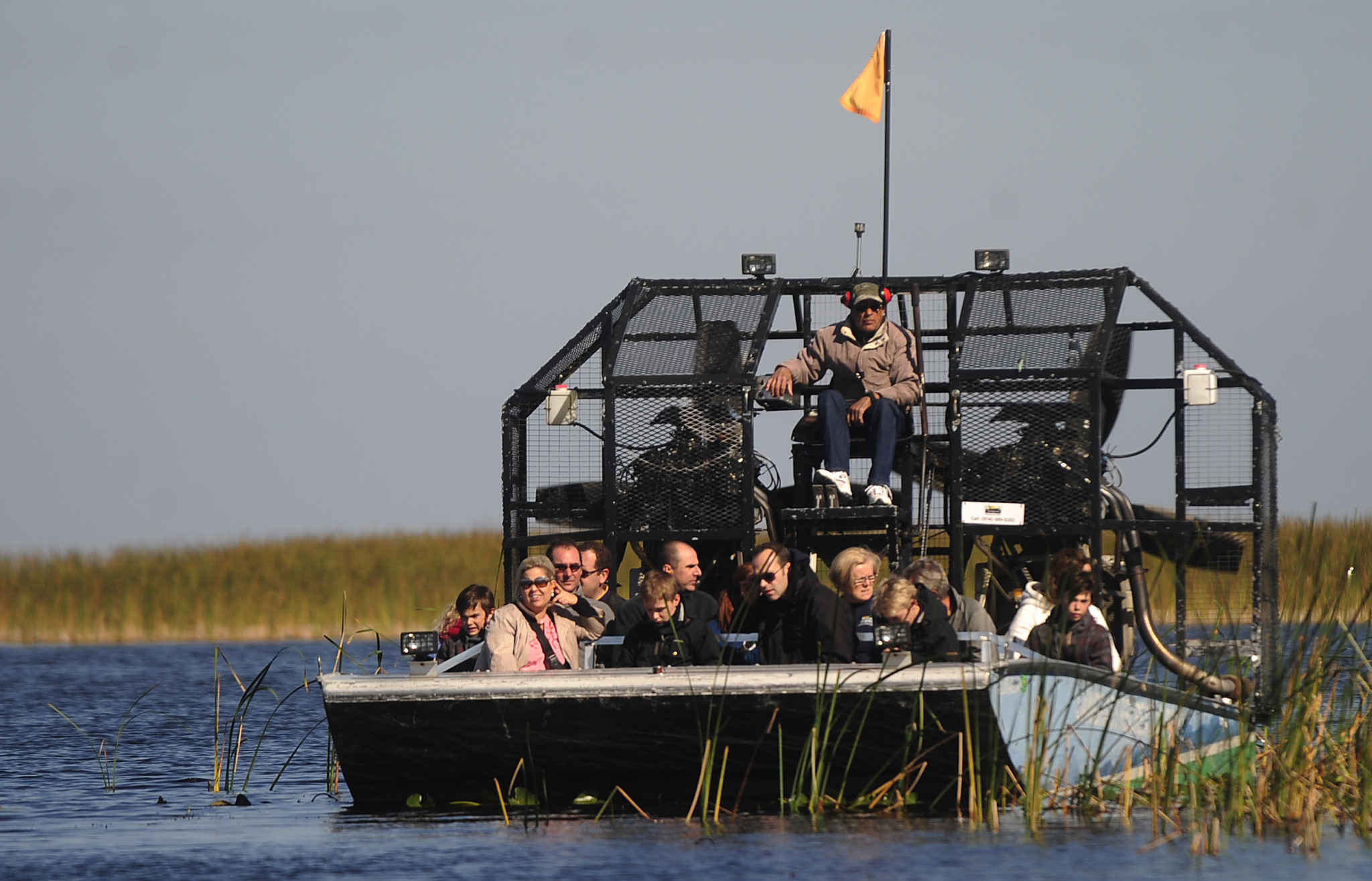 Things every South Floridian should do once - Go for an airboat ride