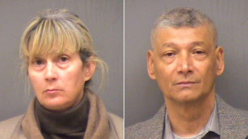 Julie and Mark Carlos were both charged with cruelty to persons and risk of injury to a minor.