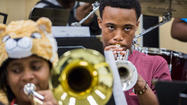 Band students at Kenwood Academy prepare for the biggest show of their lives