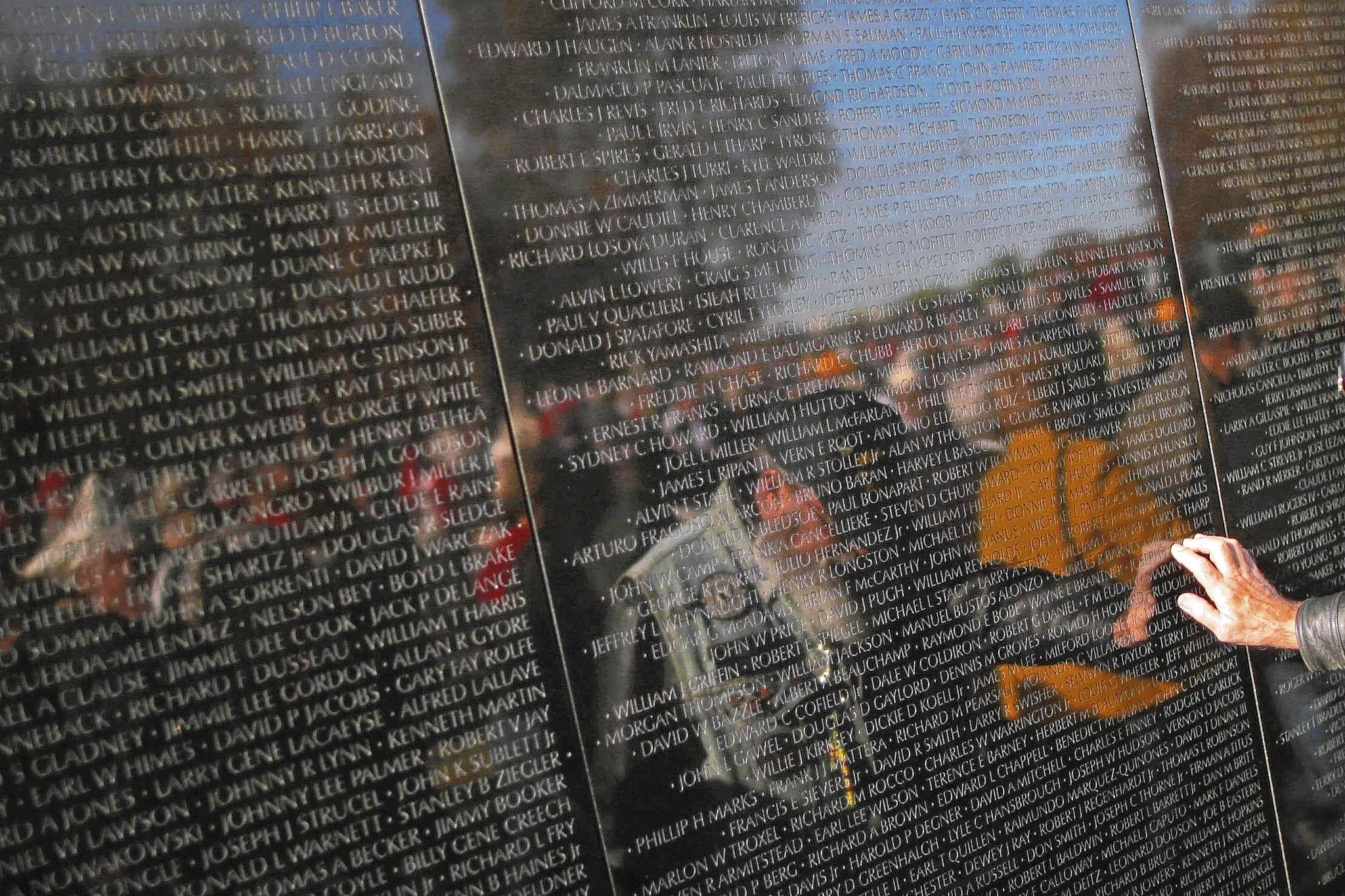 Tens of thousands of veterans and family members visit the somber and sobering Vietnam Veterans Memorial each year in Washington, D.C.