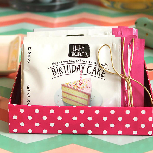 Project 7 Birthday Cake Gum Project 7 Birthday Cake