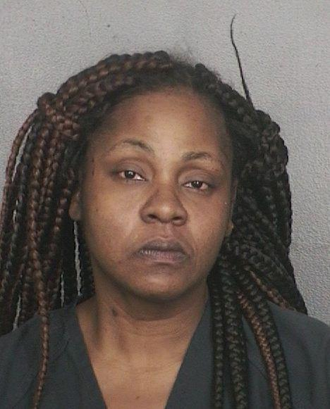 Natasia Williams, 35, of Lauderhill is accused of attacking a 72-year-old relative in Sunrise to prevent him from taking her 14-year-old daughter to the junior prom