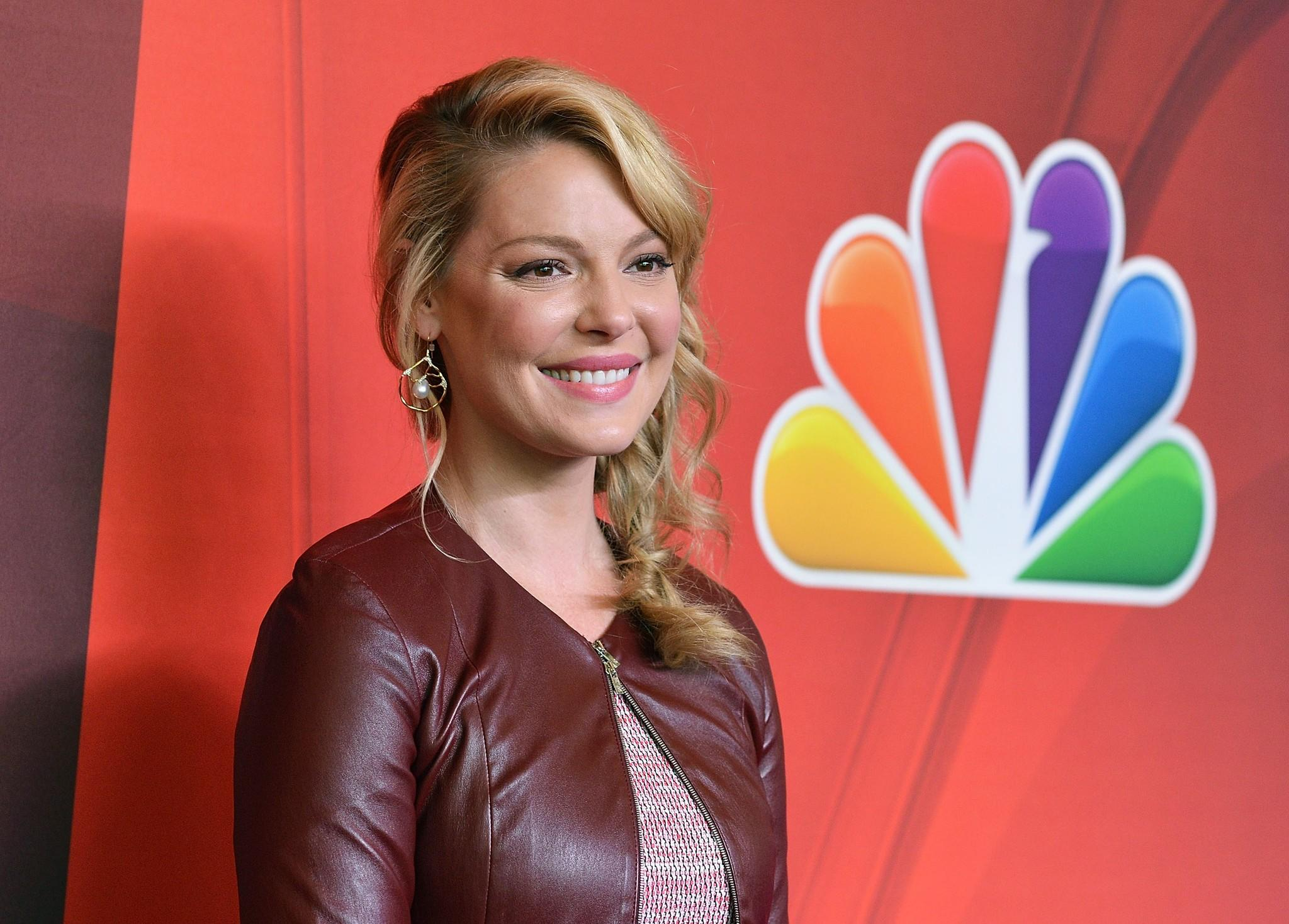 "Actress Katherine Heigl attends the 2014 NBC Upfront Presentation on May 12 where the network announced she'll star in the drama, ""State of Affairs,"" set to premiere this fall along with a slew of new offerings."
