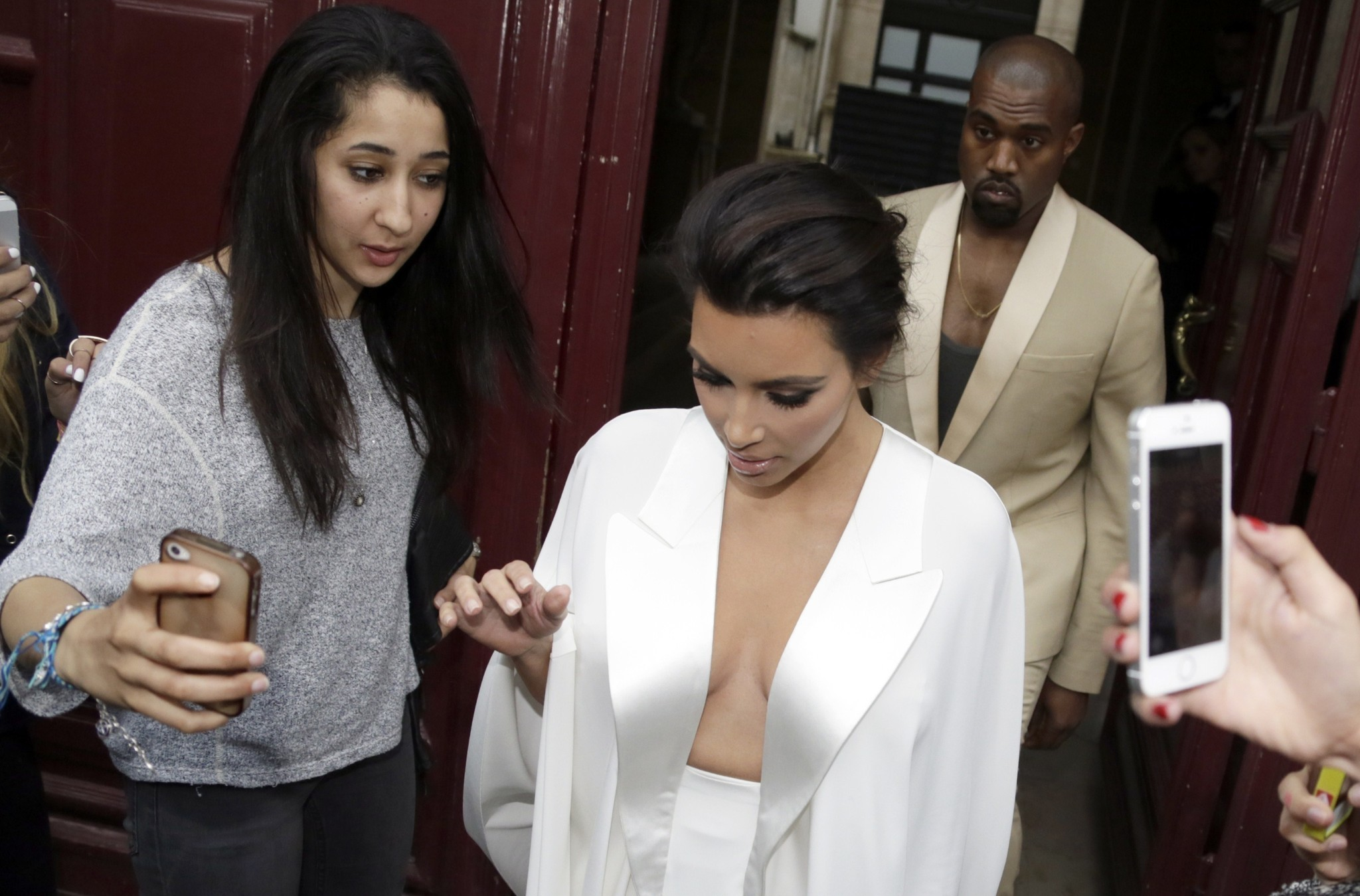 Kim Kardashian Kanye West Wedding Festivities Underway In Paris