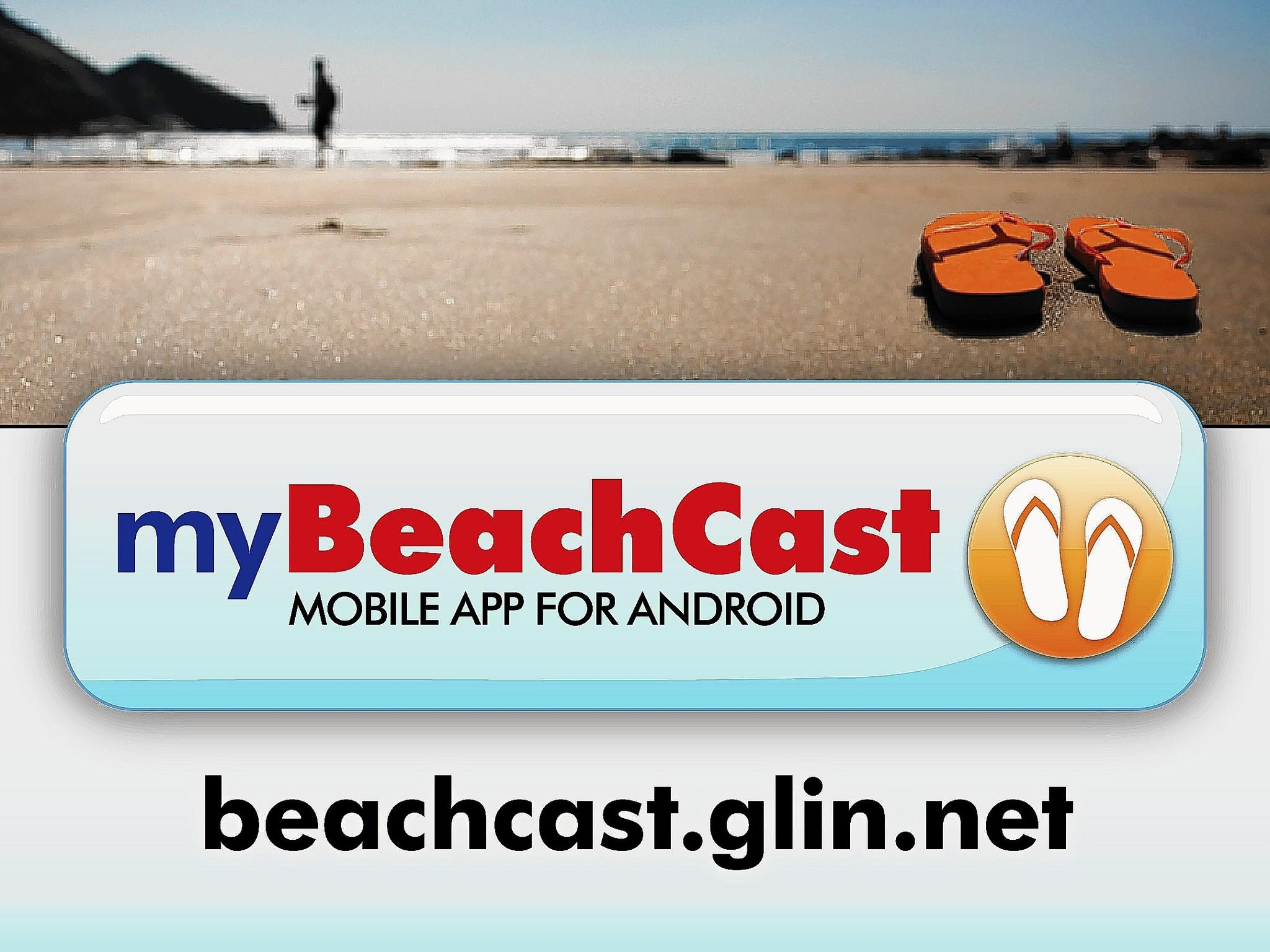 A mobile app will alert beachgoers about swim bans or closings in Lake County.