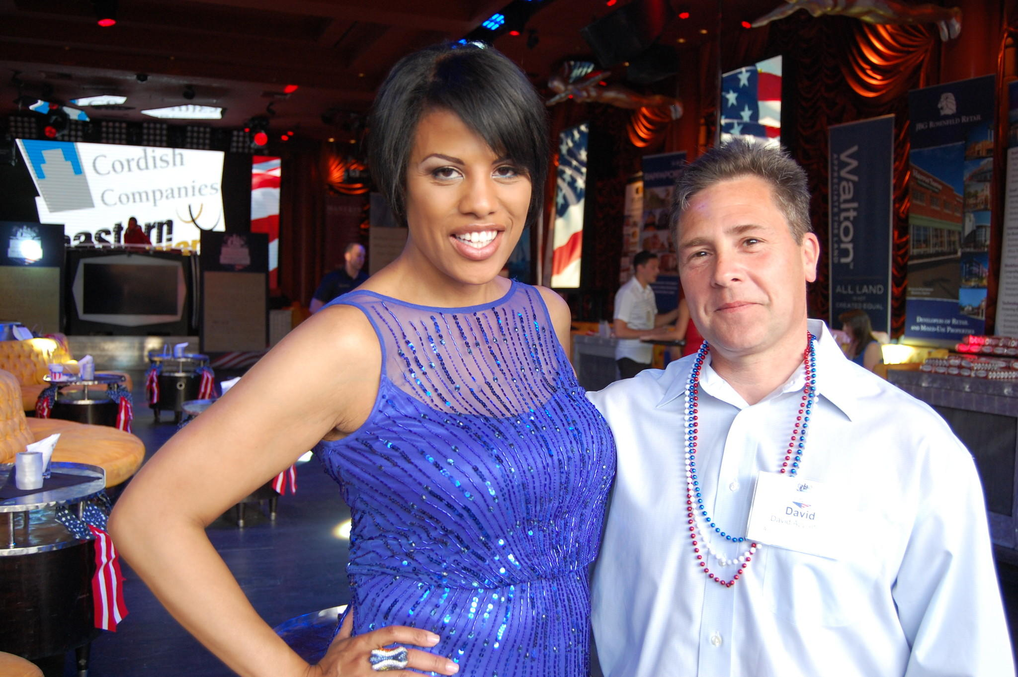 Baltimore Mayor Stephanie Rawlings-Blake and David Applefeld of Adelberg, Rudow, Dorf & Hendler attend the conference in Las Vegas.