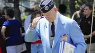 At Memorial Day ceremony, exhortations to remember the fallen, and those still serving