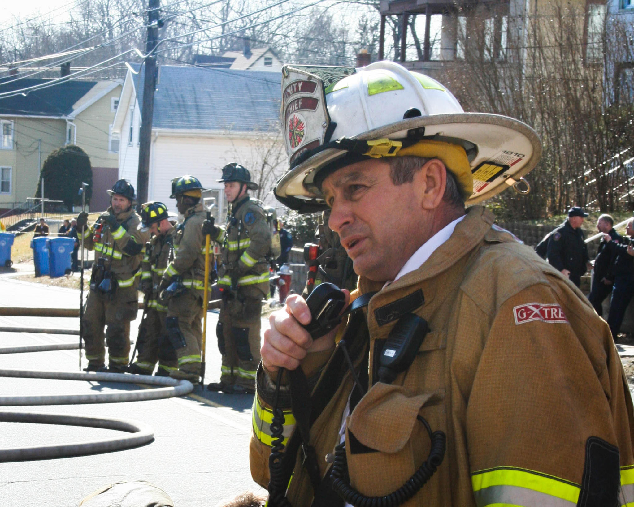 Deputy Chief David Fiori, a 36-year veteran of the New Britain Fire Department, died Monday morning after suffering a heart attack on duty Sunday night. He was 59.