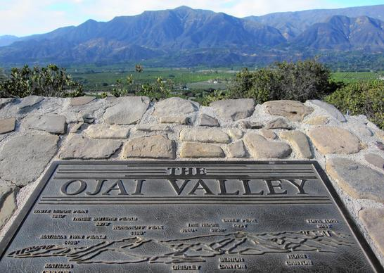 The Ojai Valley sits about 100 miles northwest of Los Angeles, and is a frequent getaway for Angelenos.