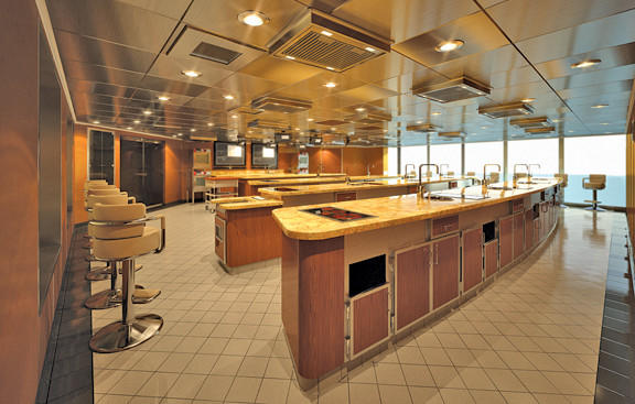 Culinary Center on Oceana Cruises
