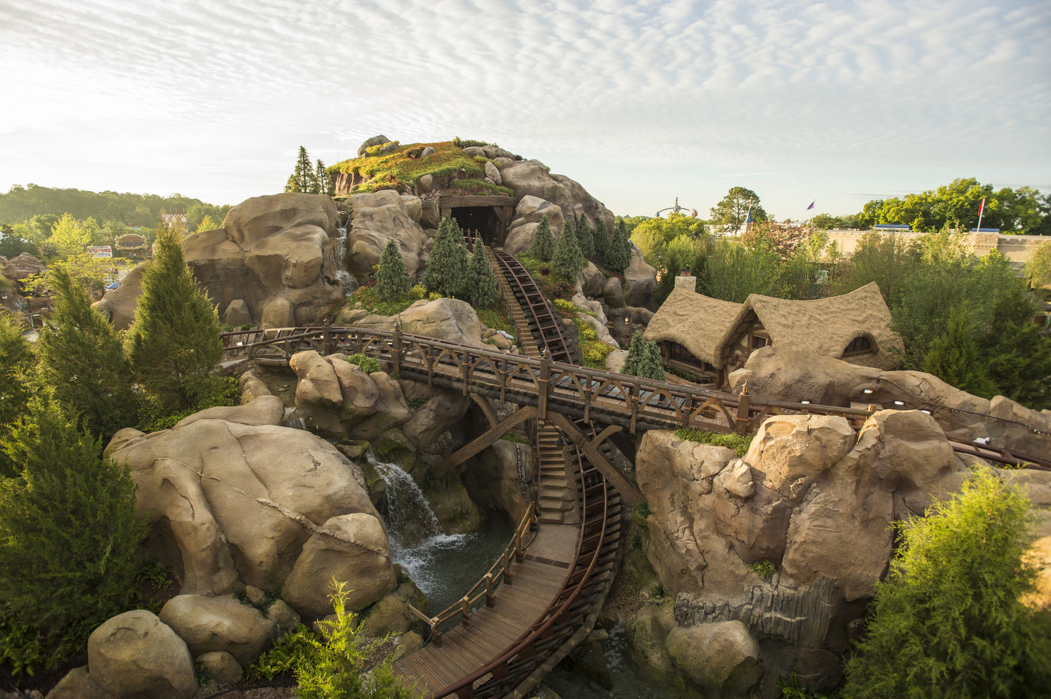Photo: Seven Dwarfs Mine Train at Magic Kingdom