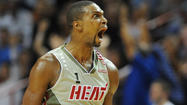 Photos: See the weird faces of Chris Bosh