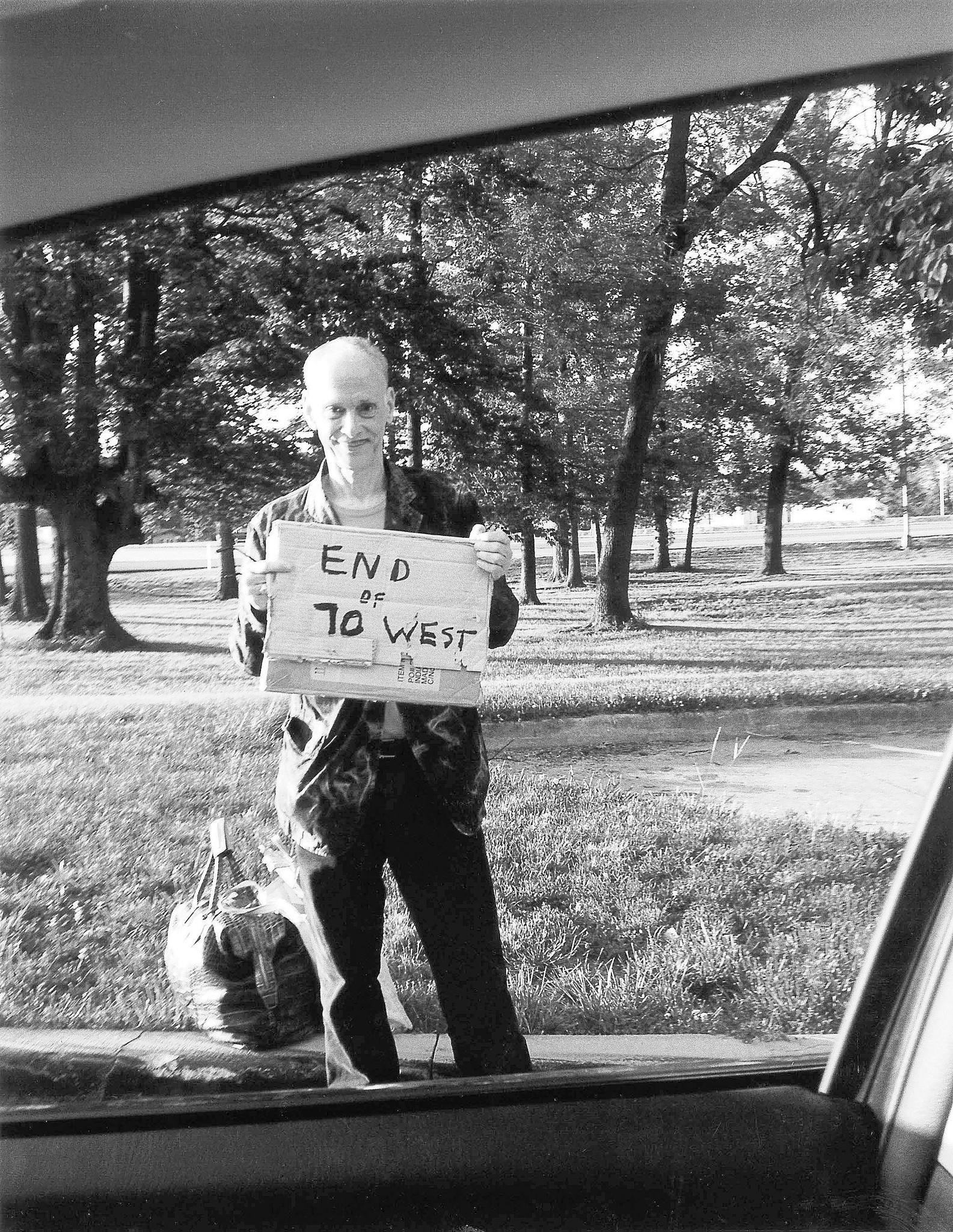 "John Waters weaves fact with fiction in his new book about hitchhiking, ""Carsick."""