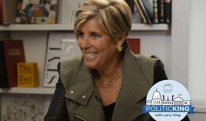 Suze Orman talks to Larry King