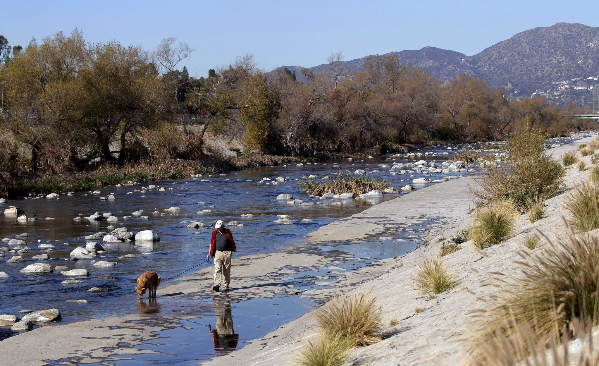 Garcetti thanks President Obama for 'listening' on L.A. River project - LA Times