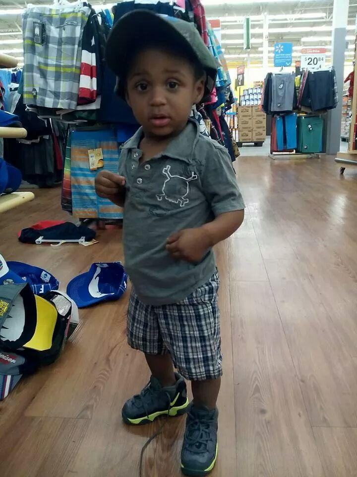 I'zarion Colin, 1, in a recent photo. The 18-month-old died on May 29, 2014 after he was shot the day before, according to the Palm Beach County Sheriff's Office.