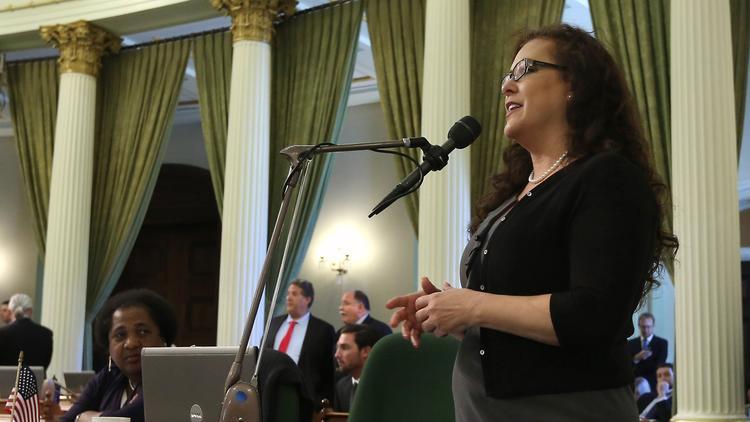 Assemblywoman Lorena Gonzalez Fletcher (D-San Diego) (Rich Pedroncelli / Associated Press)