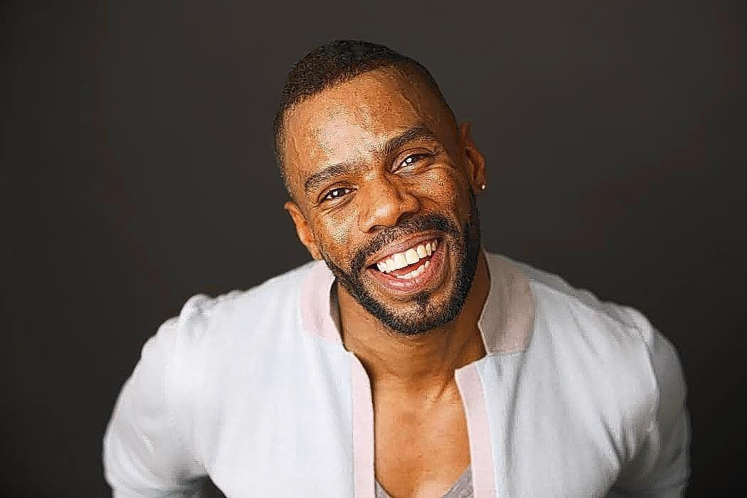 "Actor and playwright Colman Domingo, whose play ""Wild with Happy"" is at Center Stage May 28-June 29."