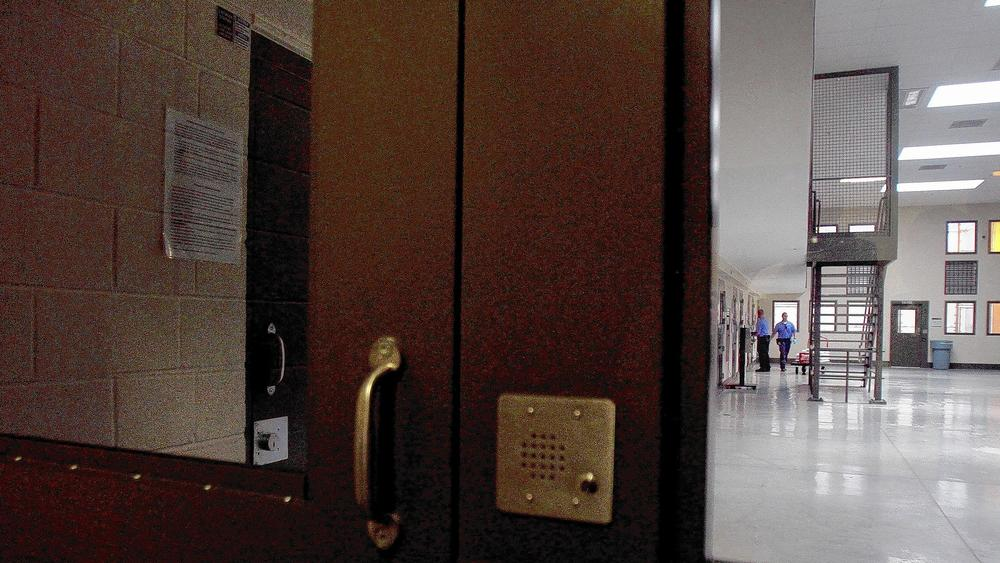 California's largest immigrant detention center is a privately run facility in Adelanto. (Cheryl A. Guerrero / Los Angeles Times)