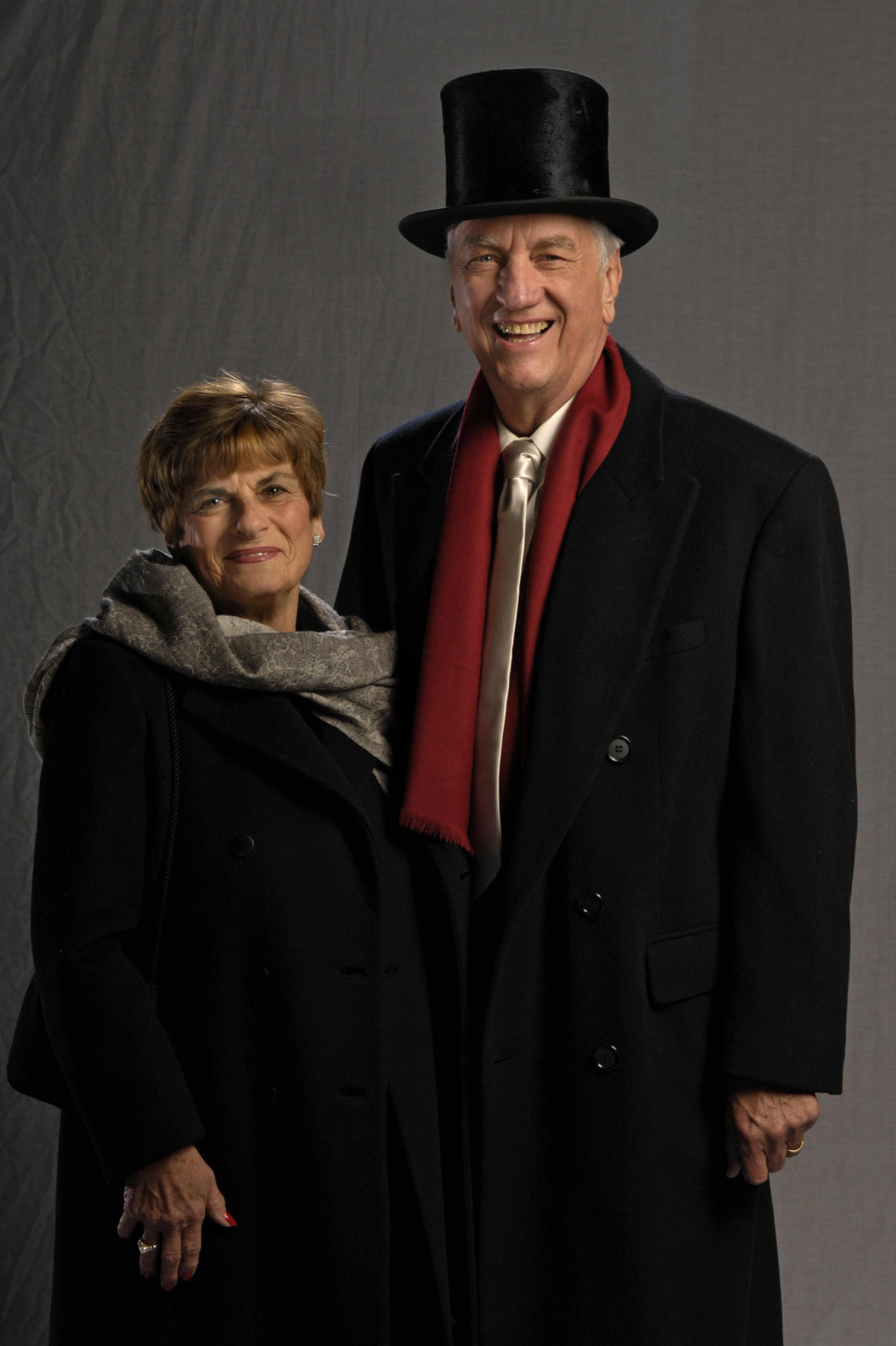 State Rep. Larry Miller and his wife, Millie, attend Gov. Rell's Inaugural Ball at the Connecticut Expo Center in January 2007.