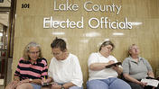 Video: Couples get marriage licenses at county office