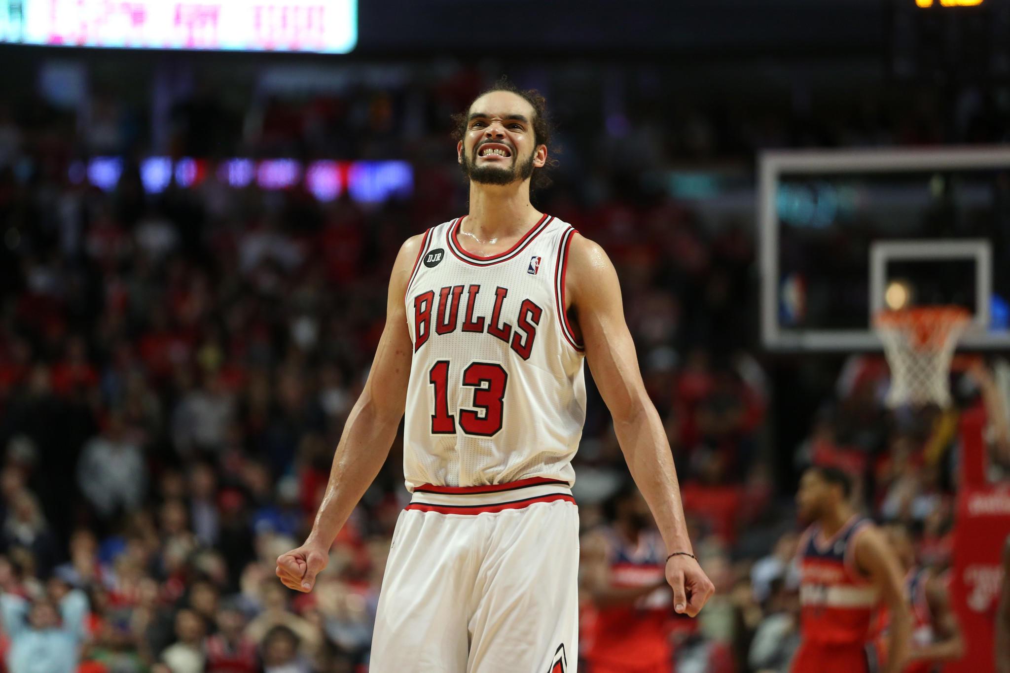 Chicago Bulls center Joakim Noah.