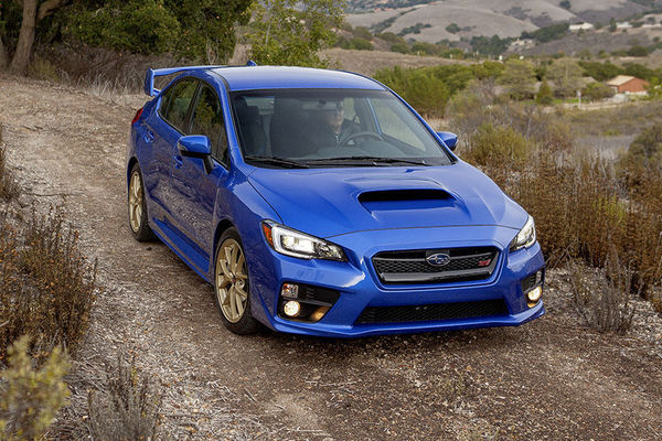 2015 subaru wrx sti pushes performance and price chicago tribune. Black Bedroom Furniture Sets. Home Design Ideas