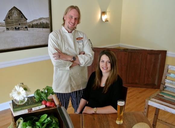 Chef Nelson Miller and his wife-owner, Olivia, have opened Silt restaurant
