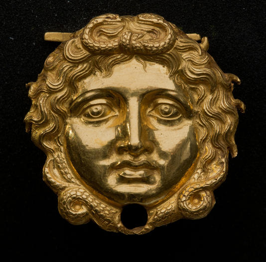Gorgon Mask, Philip II Tomb
