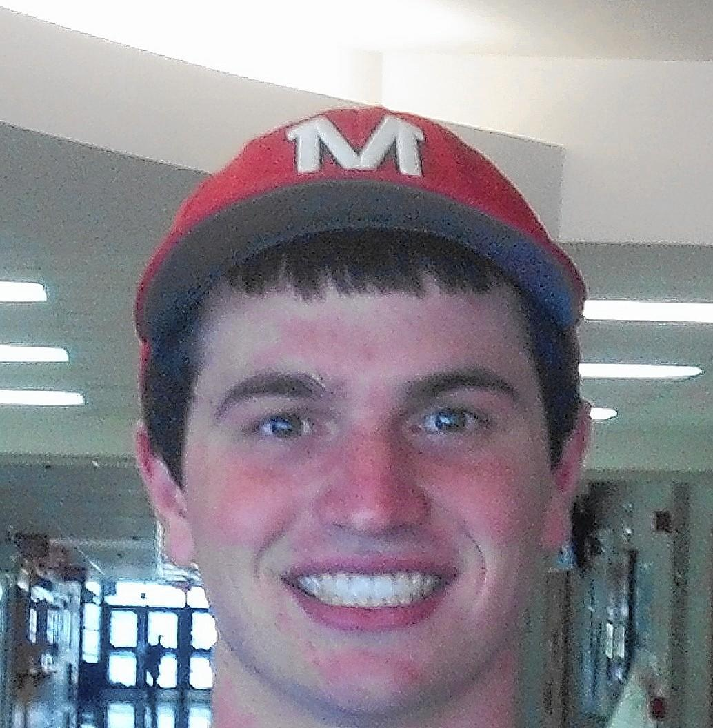Catcher Logan Reckert, pictured, and shortstop Derek Parola each hit a home run during the final week of the regular season, but Mundelein will be counting on their defense more in the postseason.