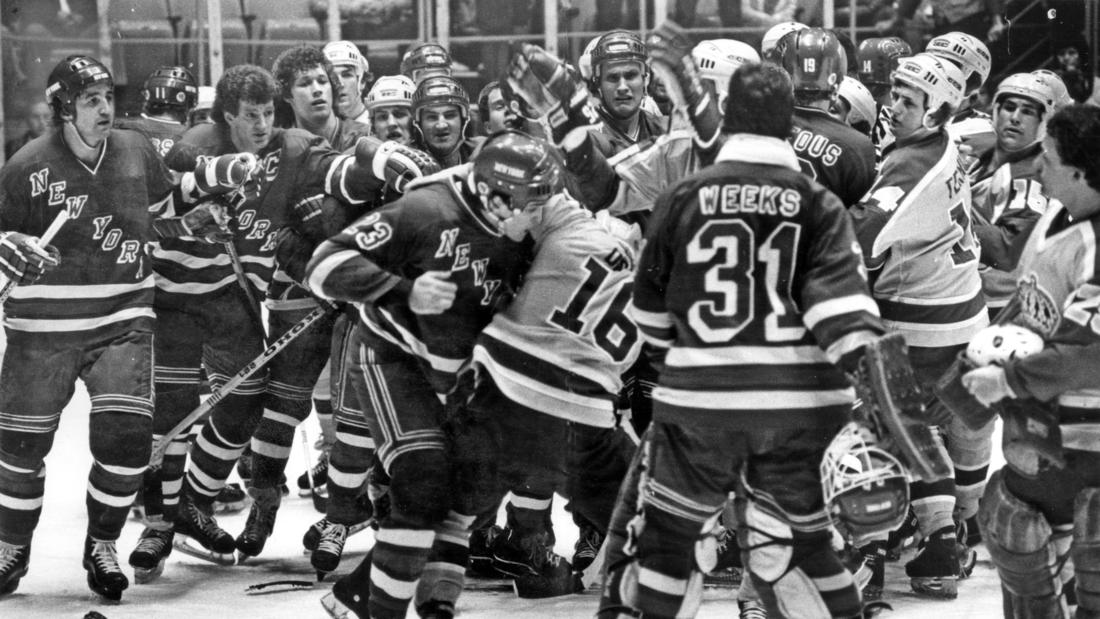 When Kings, Rangers Last Met In Playoffs, They Showed Plenty Of Fight