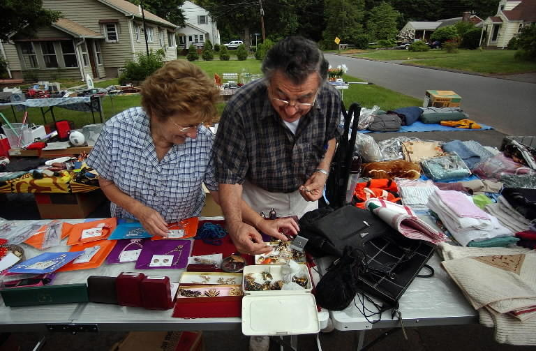 The town will sponsor its annual tag sale Saturday.