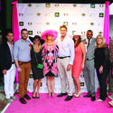 """Rock the Race"" committee members Luis Rodriguez, left, Michael Feinberg, Kristen Martino, Charlotte Mather-Taylor, Steve Harrington, Alicia Stacy, Kuda Biza, Ginny Fujino and Rafferty Taylor attended Ann Storck Center's ""Rock the Race: Kentucky Derby Bash"" at Seminole Hard Rock Hotel & Casino."