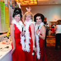 April Kowalski, left, Cynthia Preston and Heidi Greene channeled the Supremes for Broward Education Foundation's annual fundraiser at the Westin Diplomat Resort & Spa.
