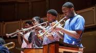 Photos: Kenwood Academy Jazz Band's big finish