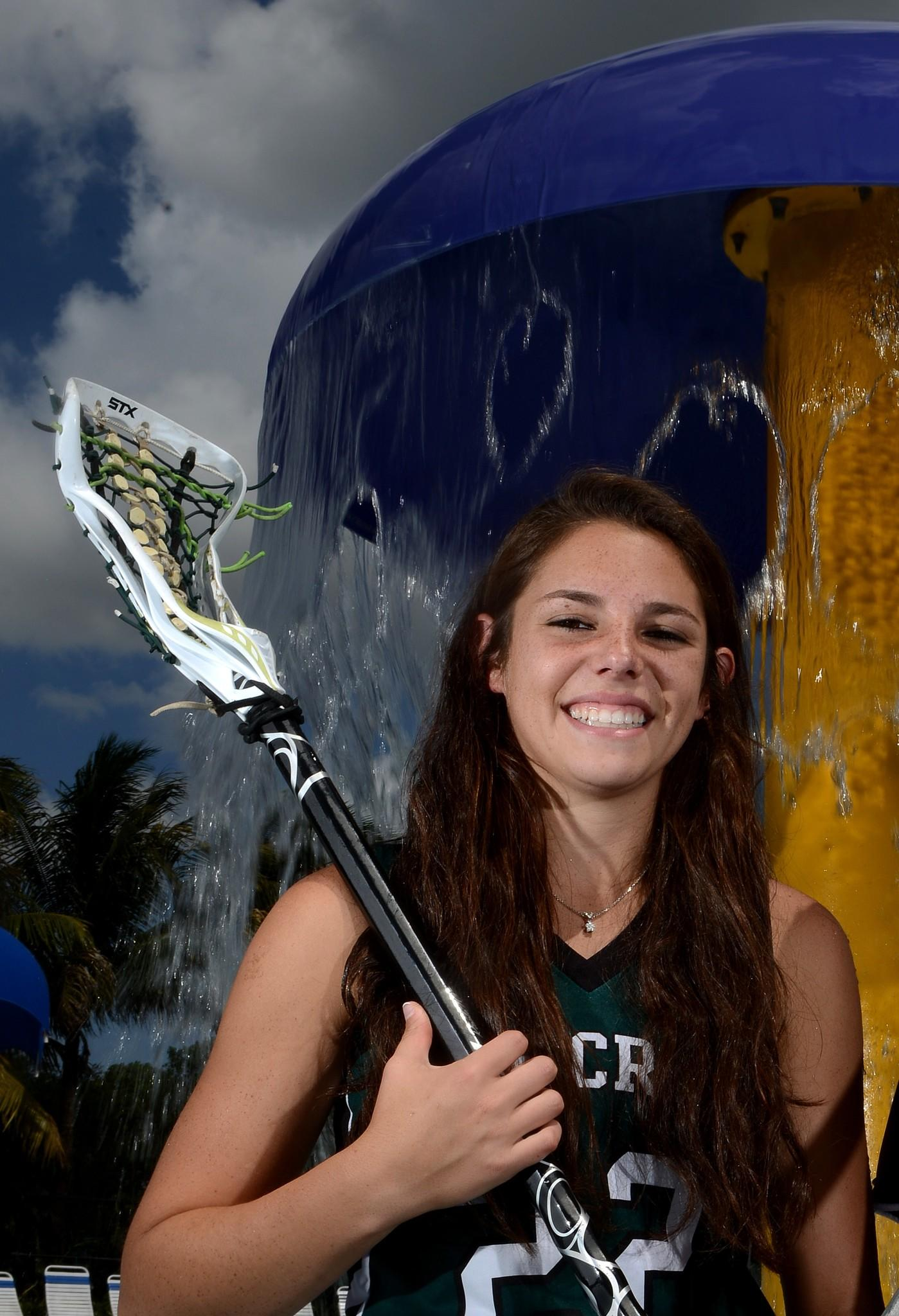 Pine Crest's Allie Gershman is the Girls Lacrosse Player of the Year
