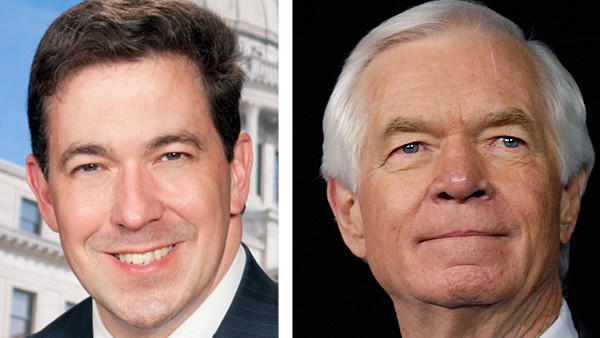 Mississippi Sen. Thad Cochran and State Sen. Chris McDaniel.